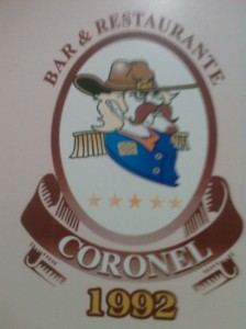 Logo do bar Coronel