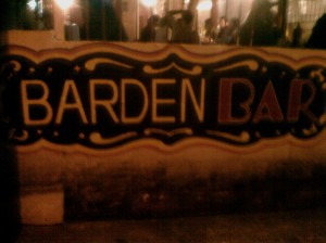 Barden bar logo